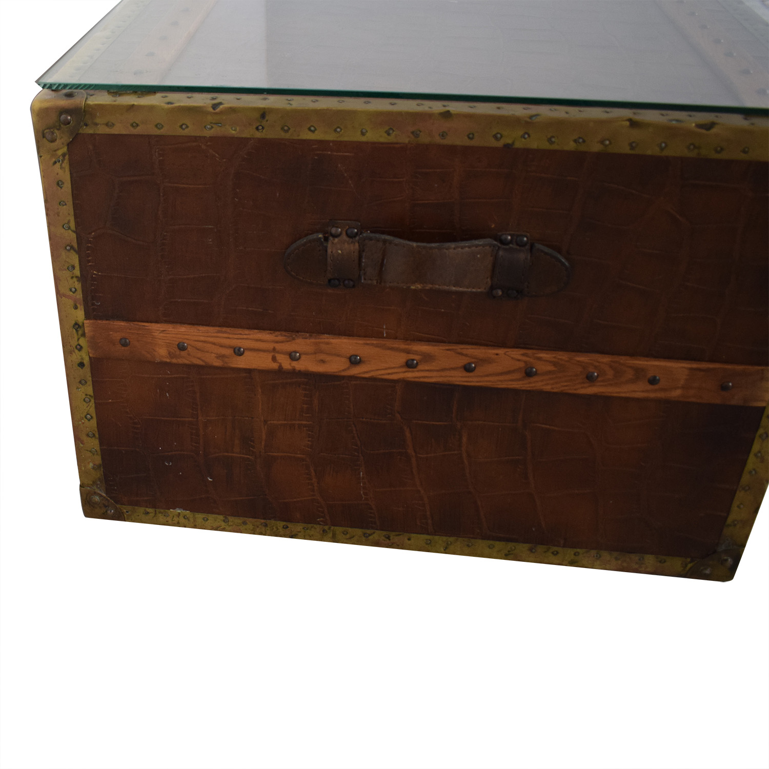 buy ABC Carpet & Home ABC Carpet & Home Steamer Trunk Coffee Table online