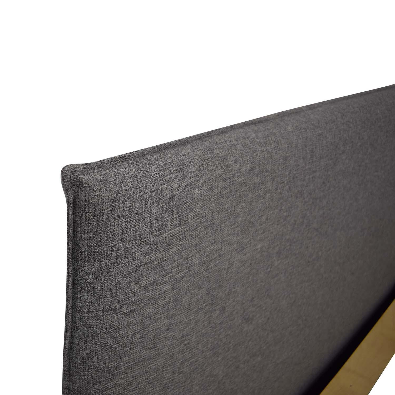 CB2 Facade Queen Bed Frame / Bed Frames