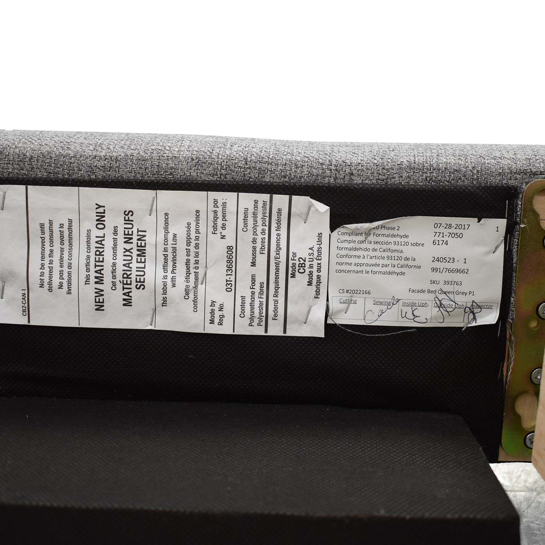CB2 CB2 Facade Queen Bed Frame used