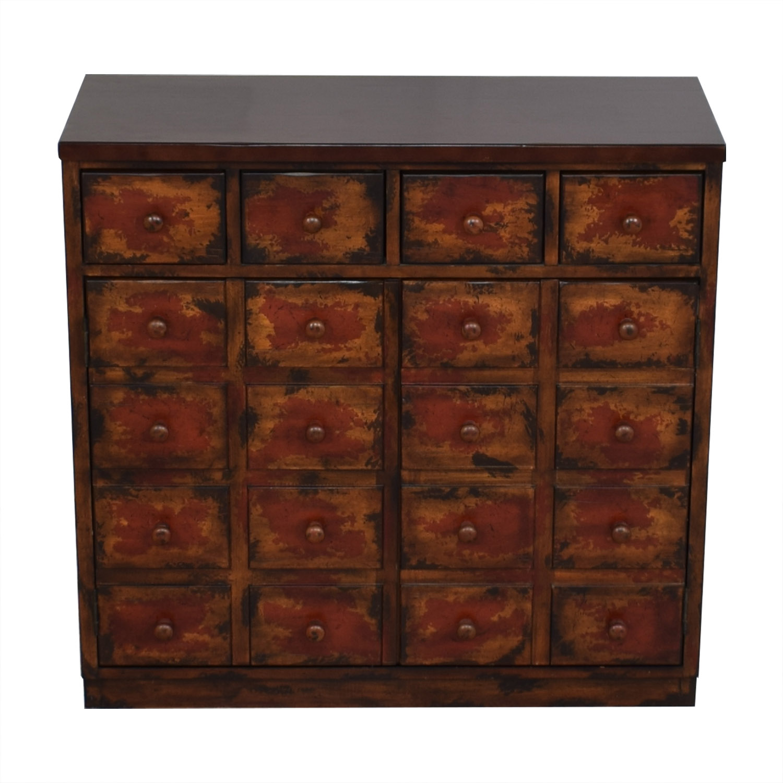 Pottery Barn Pottery Barn Andover Cabinet dark brown