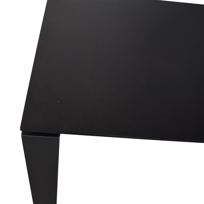 Kartell Kartell Four Rectangular Dining Table black