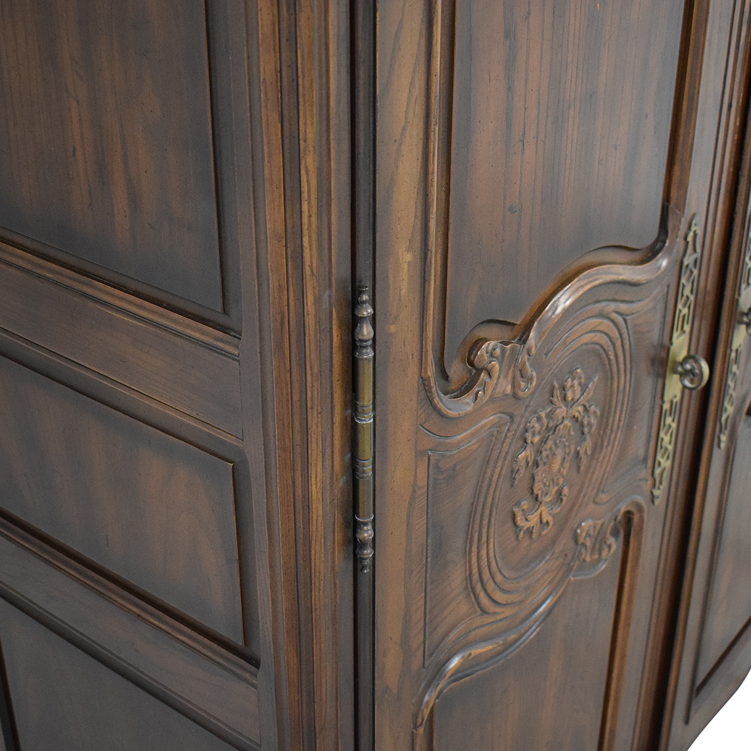 shop Henredon French Country Two Door Armoire Henredon Furniture Wardrobes & Armoires