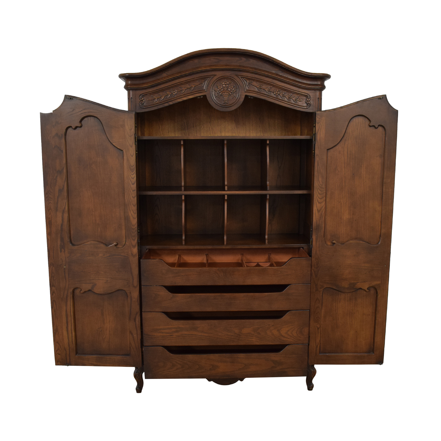 Henredon Furniture Henredon French Country Two Door Armoire nj