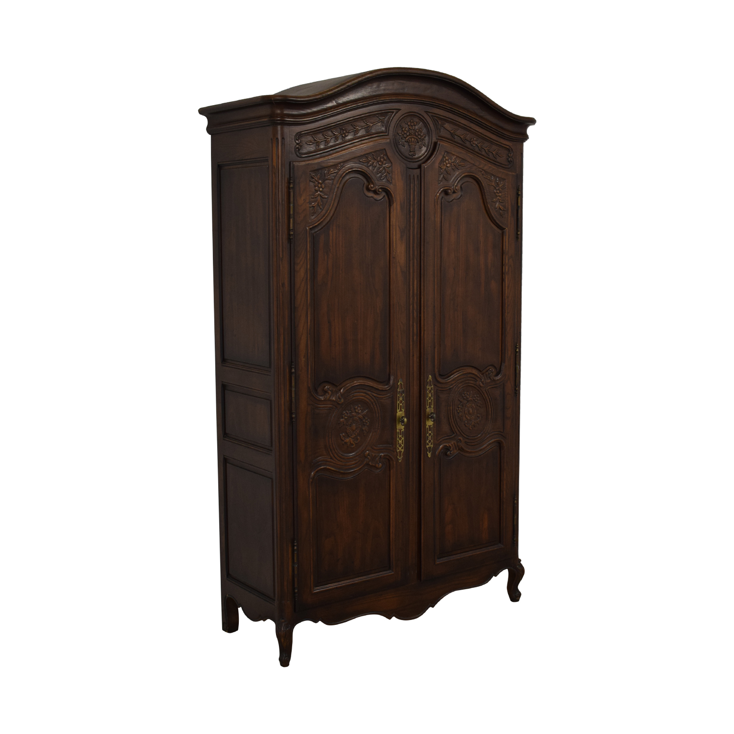 shop Henredon French Country Two Door Armoire Henredon Furniture Storage