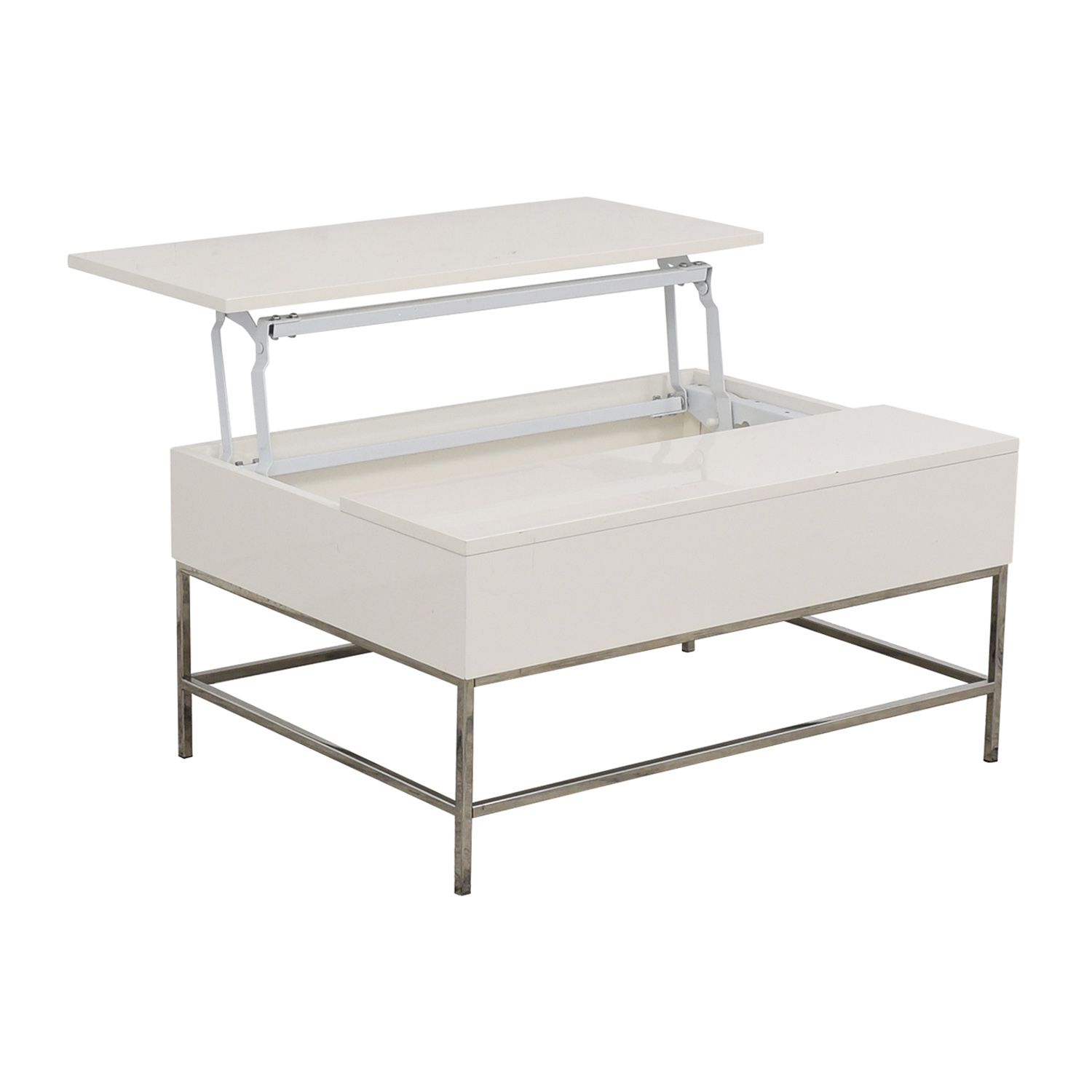 West Elm West Elm Lacquer Storage Coffee Table ct