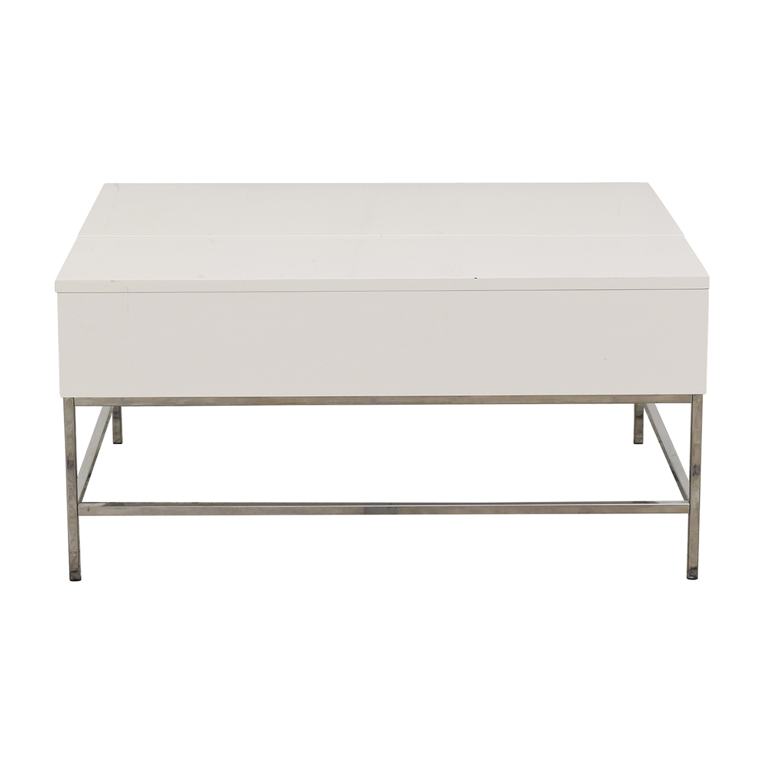 buy West Elm Lacquer Storage Coffee Table West Elm Tables