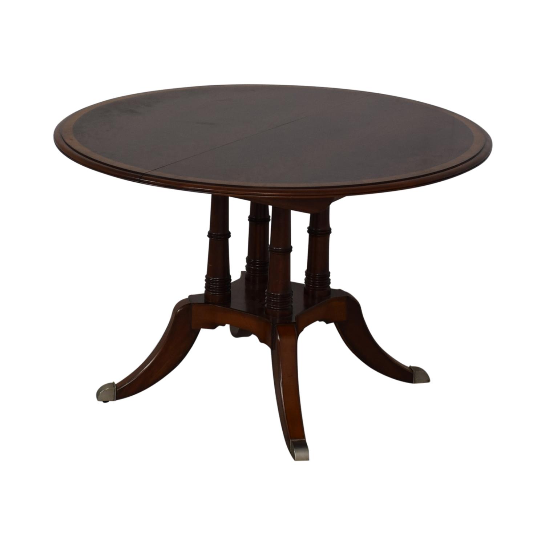 Ethan Allen Ethan Allen Hansen Dining Table brown