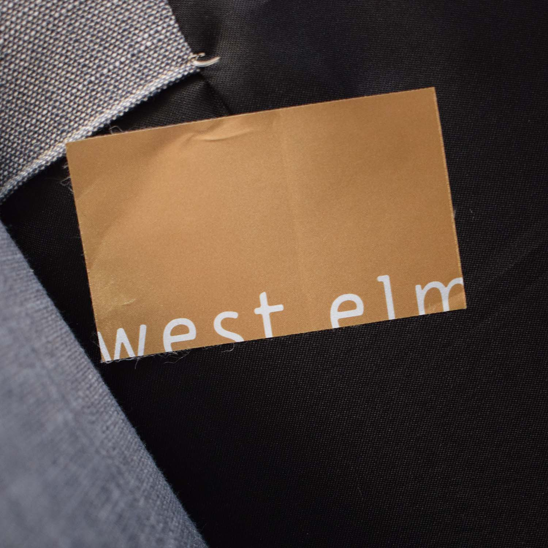 West Elm West Elm Shelter Sofa dimensions
