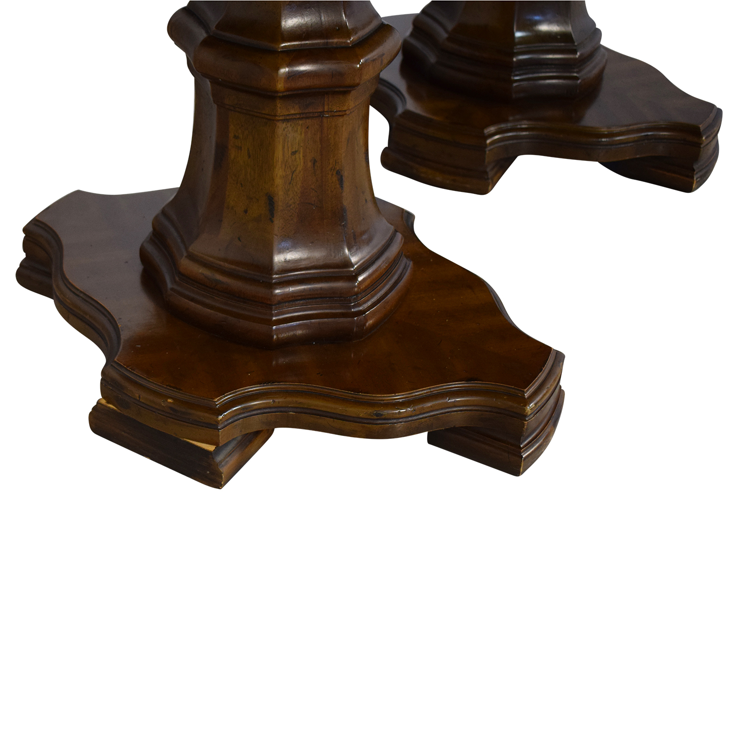 Drexel Heritage Grand Tour Double Pedestal Dining Table / Dinner Tables