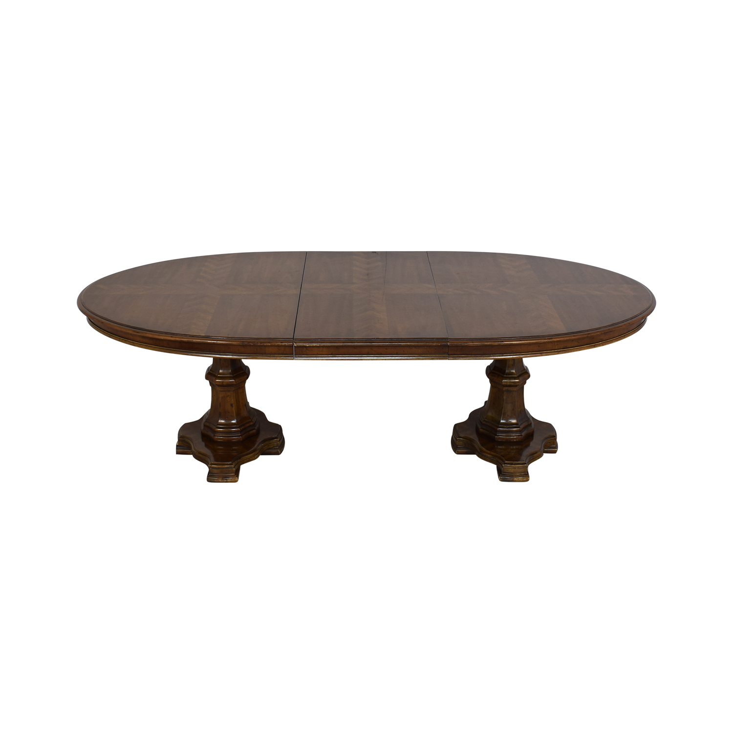 Drexel Heritage Drexel Heritage Grand Tour Double Pedestal Dining Table discount
