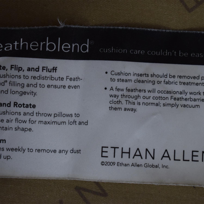 buy Ethan Allen Three Cushion Sofa Ethan Allen