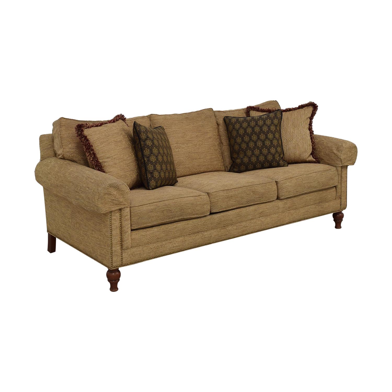 buy Ethan Allen Three Cushion Sofa Ethan Allen Classic Sofas