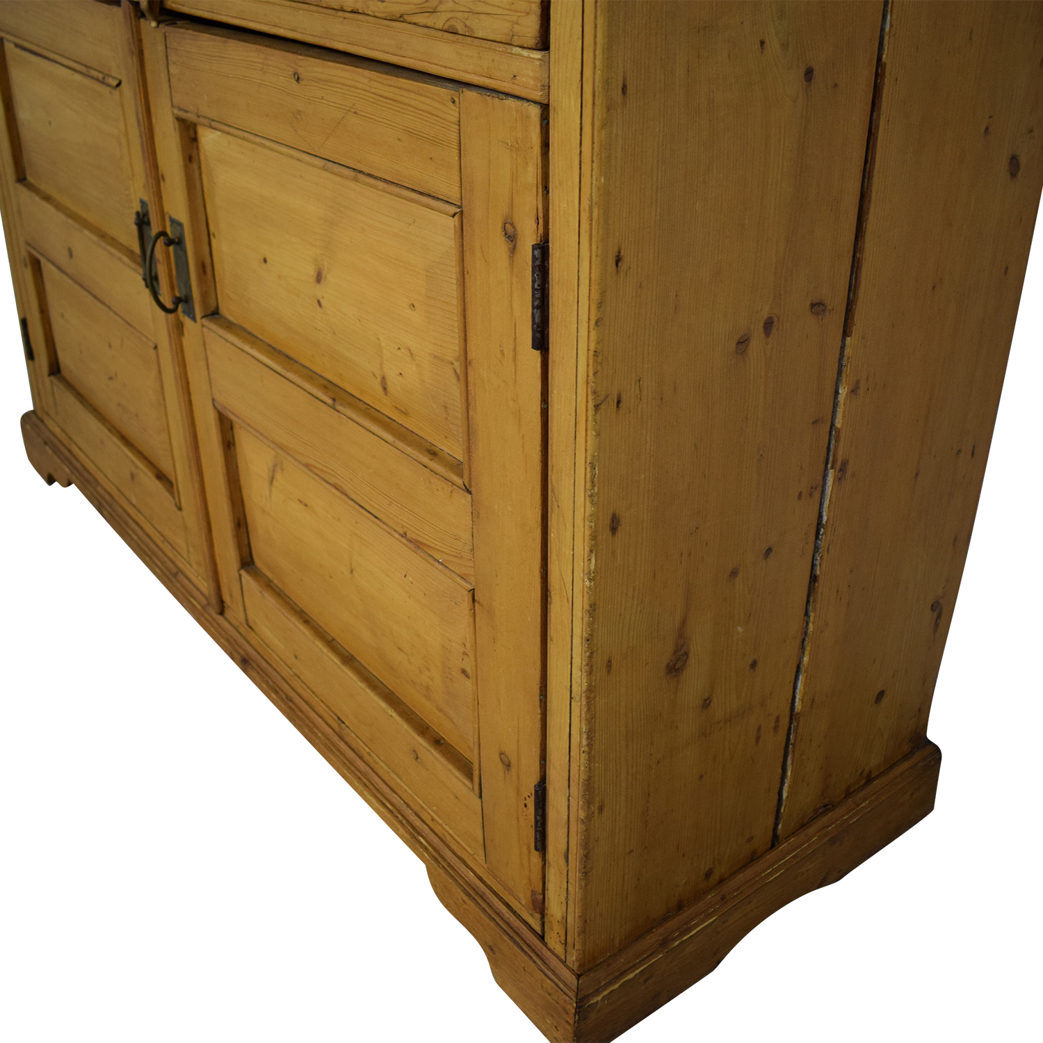 Antique Pine Hutch & Buffet / Cabinets & Sideboards