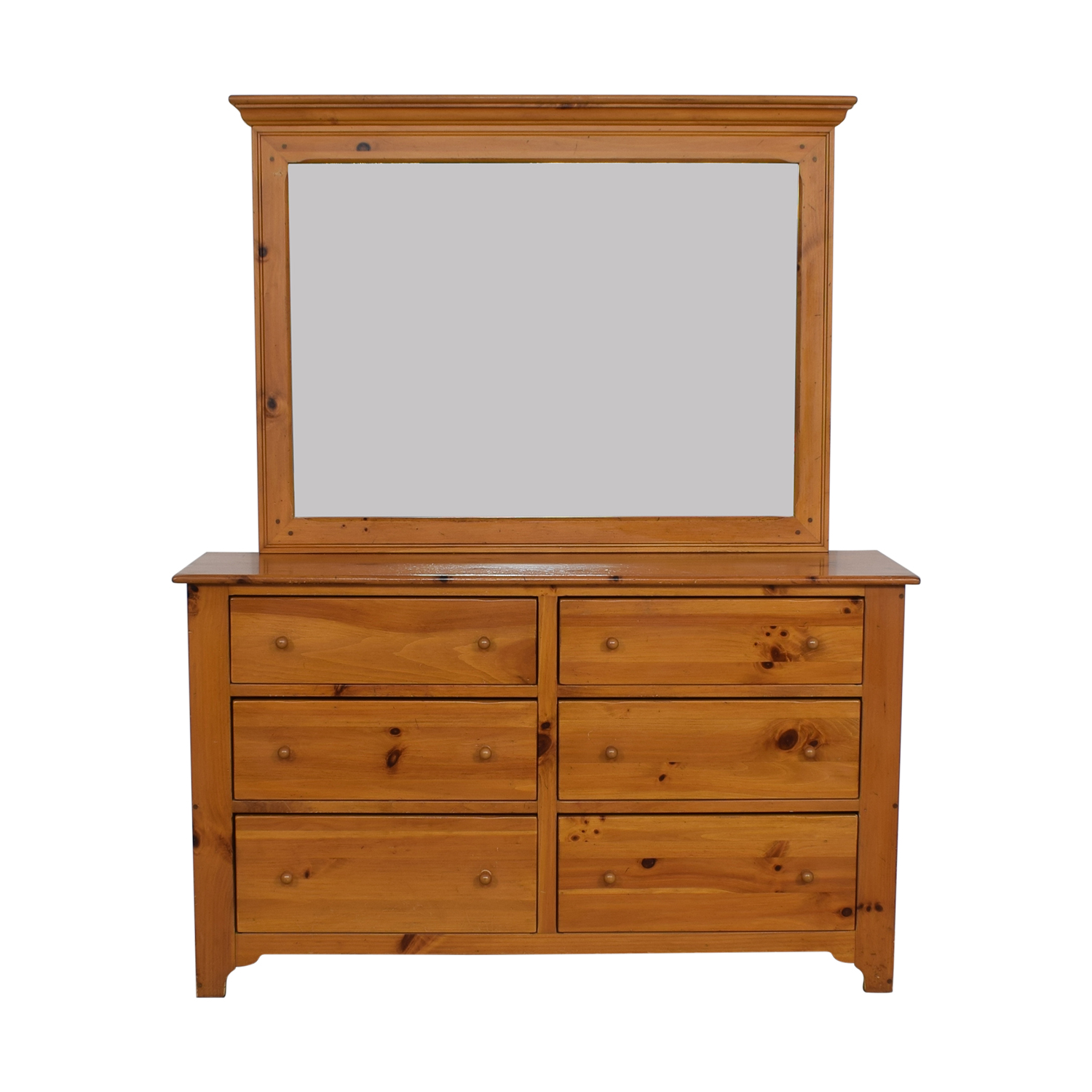 Ethan Allen Ethan Allen Pine Six Drawer Chest on sale