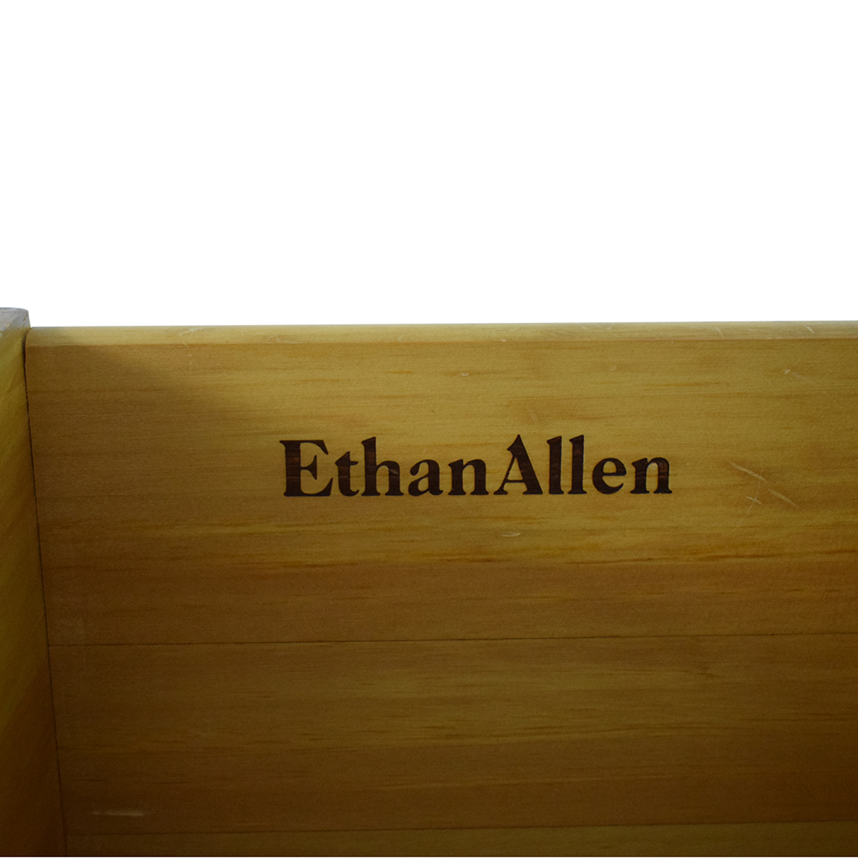 shop Ethan Allen Pine Six Drawer Chest Ethan Allen