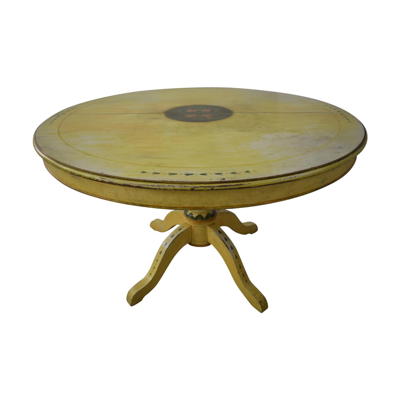 ABC Carpet & Home ABC Carpet & Home Pedestal Kitchen Table dimensions
