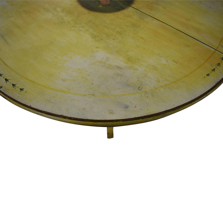 ABC Carpet & Home ABC Carpet & Home Pedestal Kitchen Table nj