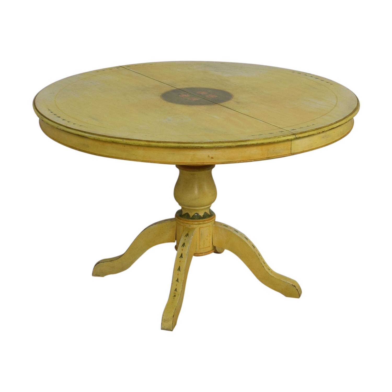 ABC Carpet & Home ABC Carpet & Home Pedestal Kitchen Table on sale