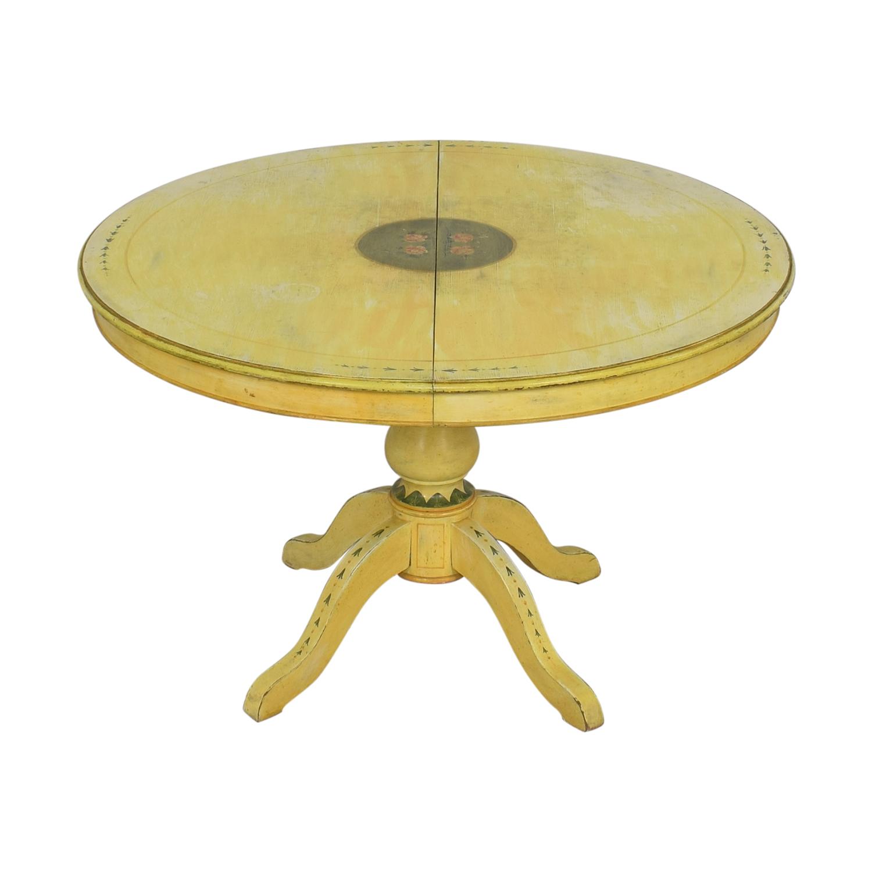 ABC Carpet & Home ABC Carpet & Home Pedestal Kitchen Table discount