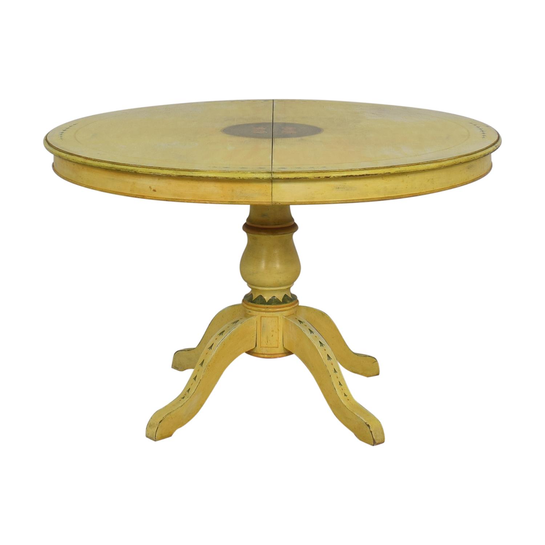 ABC Carpet & Home Pedestal Kitchen Table / Dinner Tables