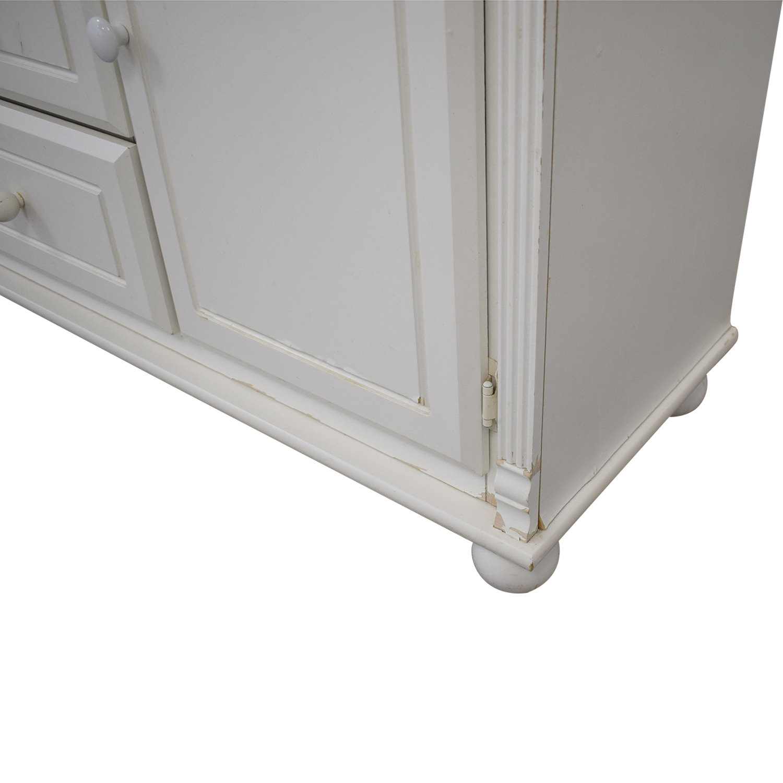 Bellini Bellini Jessica Three-Drawer Dresser white