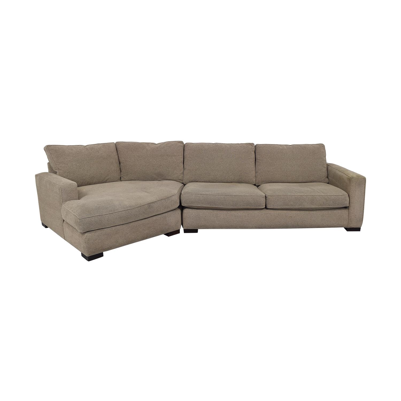 Room & Board Room & Board Custom Sectional Sofa beige