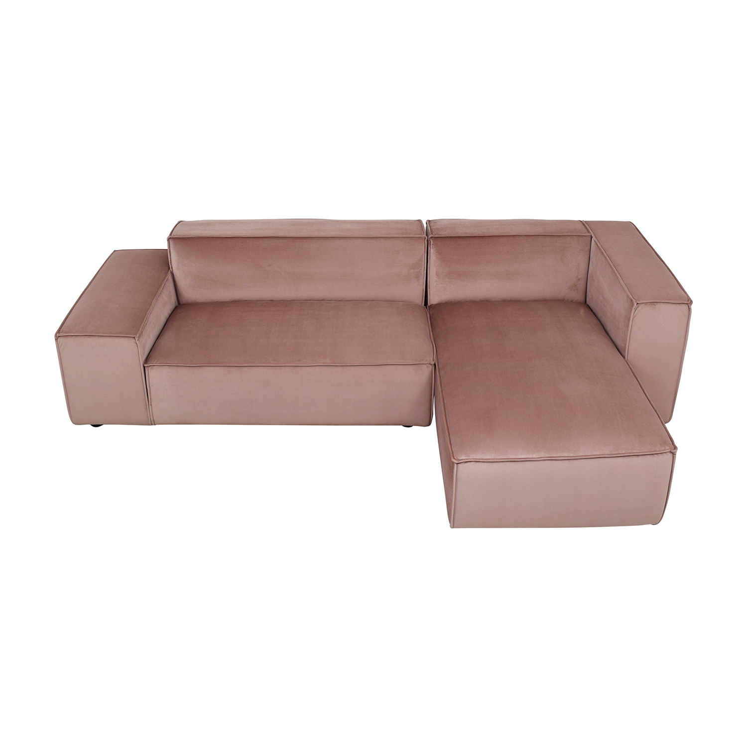 shop Sectional Sofa with Right Chaise Interior Define Sectionals