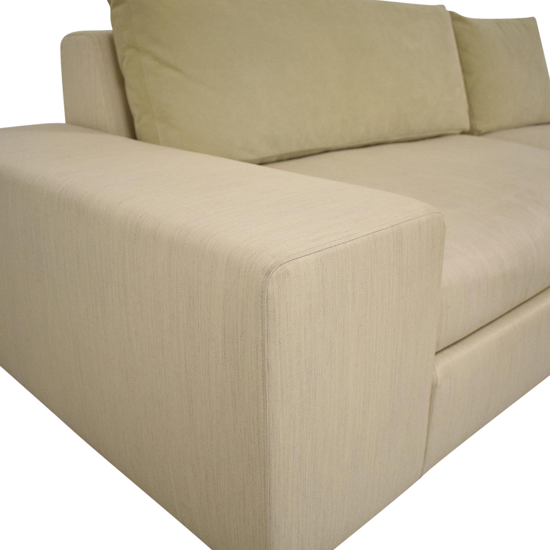 buy Ligne Roset Exclusif Asymmetrical Sofa Right Complete Element Ligne Roset Sofas