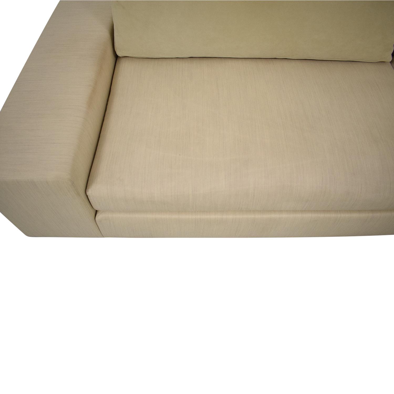 Ligne Roset Ligne Roset Exclusif Asymmetrical Sofa Right Complete Element second hand
