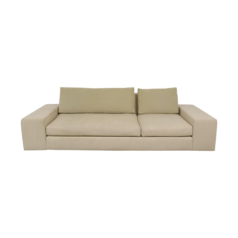 Ligne Roset Ligne Roset Exclusif Asymmetrical Sofa Right Complete Element beige