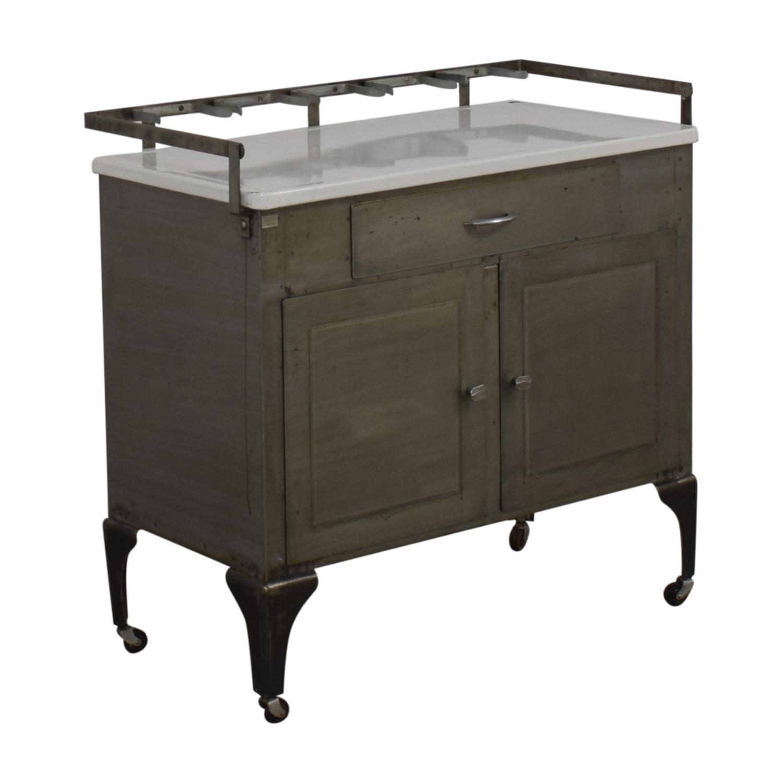 Vintage Apothecary Bar / Utility Tables
