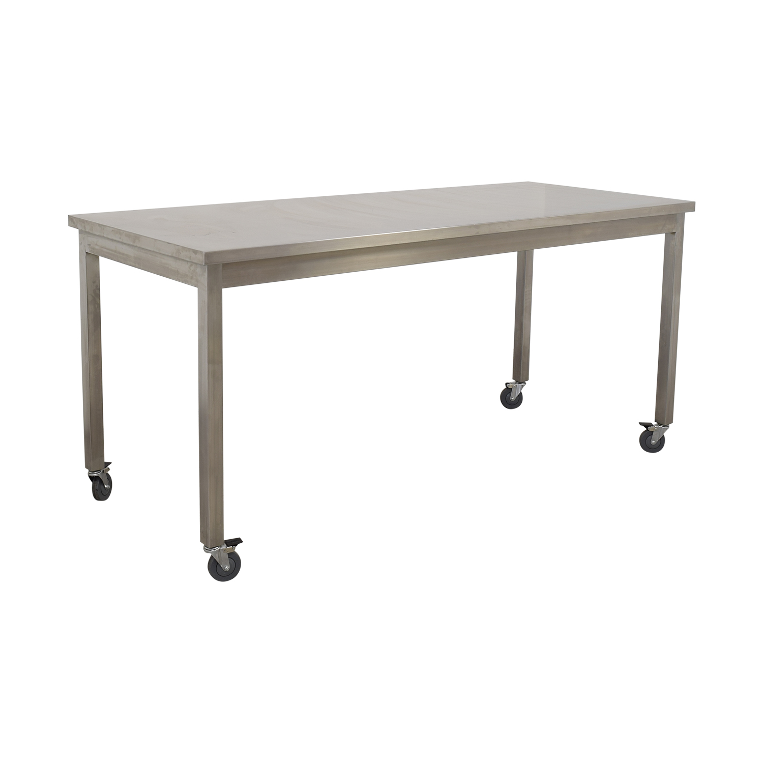 Bowery Kitchen Bowery Kitchen Stainless Steel High Top Table for sale