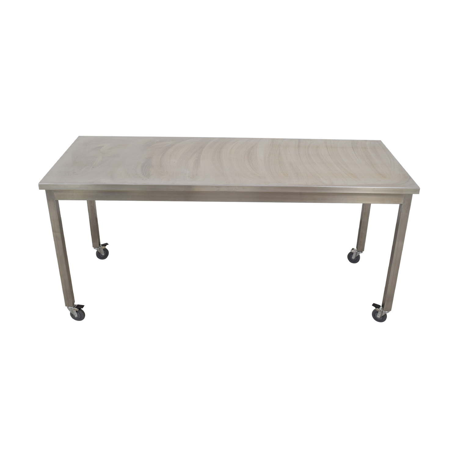 87% OFF - Bowery Kitchen Bowery Kitchen Stainless Steel High Top Table /  Tables