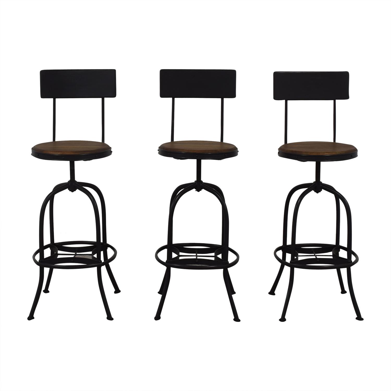 buy Ballard Designs Allen Swivel Bar Stool Ballard Designs Chairs