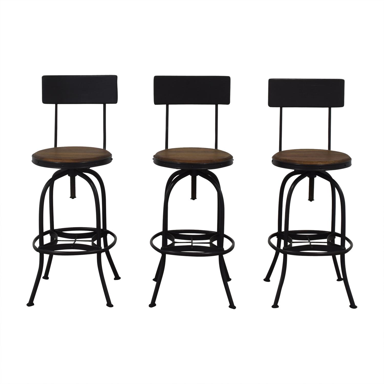 shop Ballard Designs Ballard Designs Allen Swivel Bar Stool online