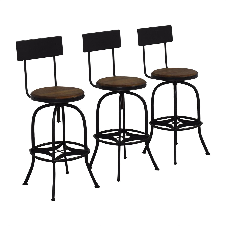Ballard Designs Allen Swivel Bar Stool / Stools