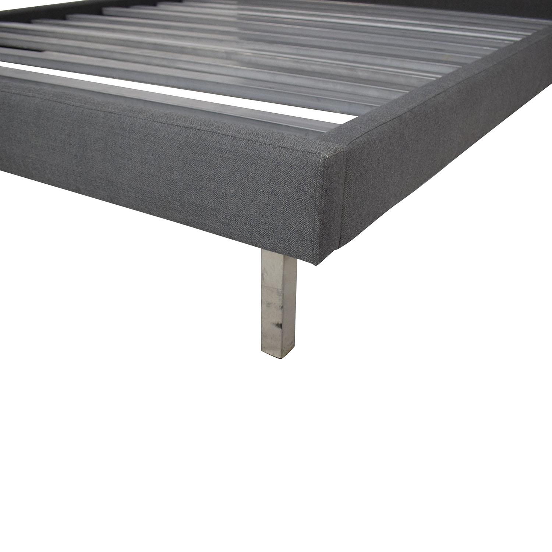 buy Room & Board Ella Queen Platform Upholstered Bed Room & Board Bed Frames