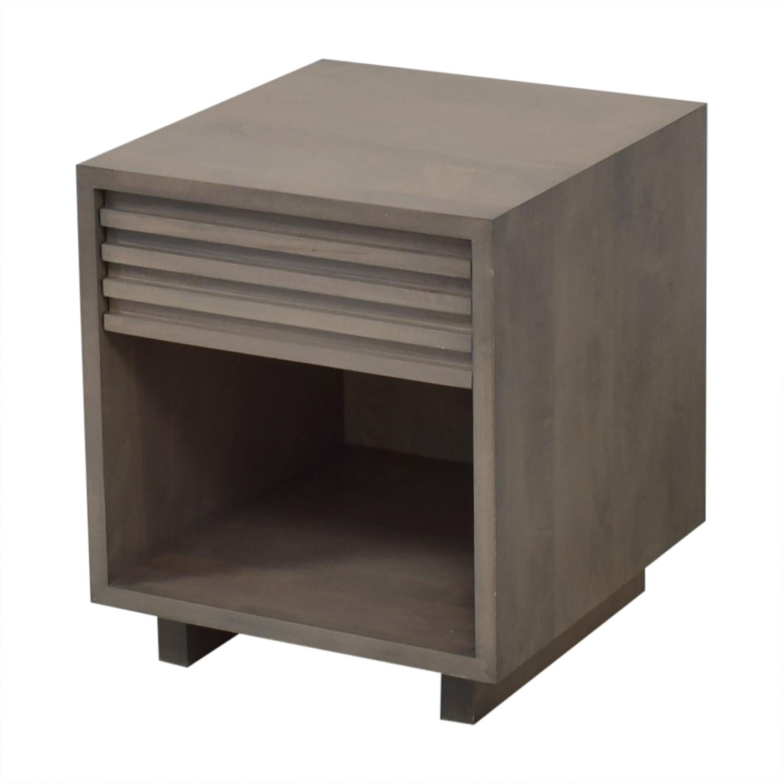 buy Room & Board Moro Single Drawer Nightstand Room & Board End Tables