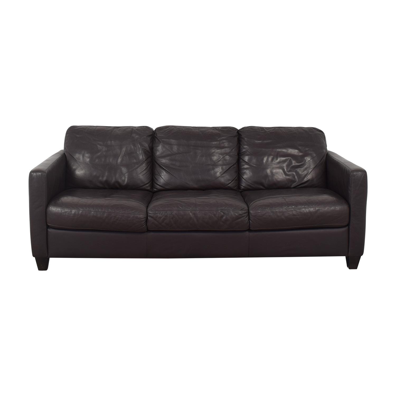 Natuzzi Natuzzi Editions Three Cushion Sofa for sale