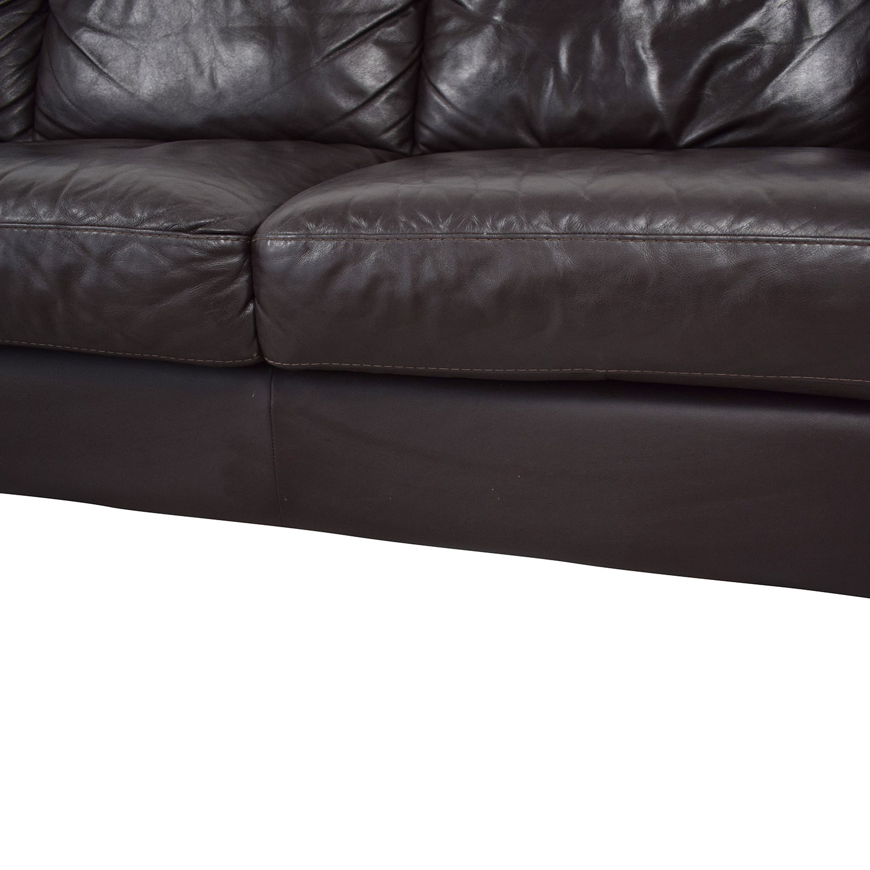 Natuzzi Editions Three Cushion Sofa Natuzzi