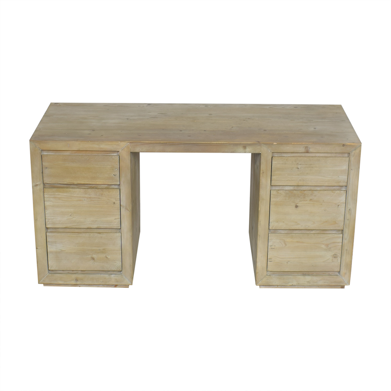 Restoration Hardware Rustic Desk sale