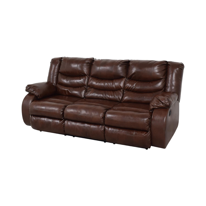 Three Seater Reclining Sofa Sofas