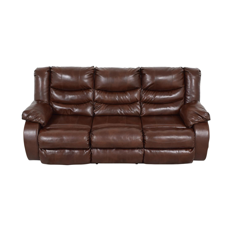 buy Three Seater Reclining Sofa  Sofas