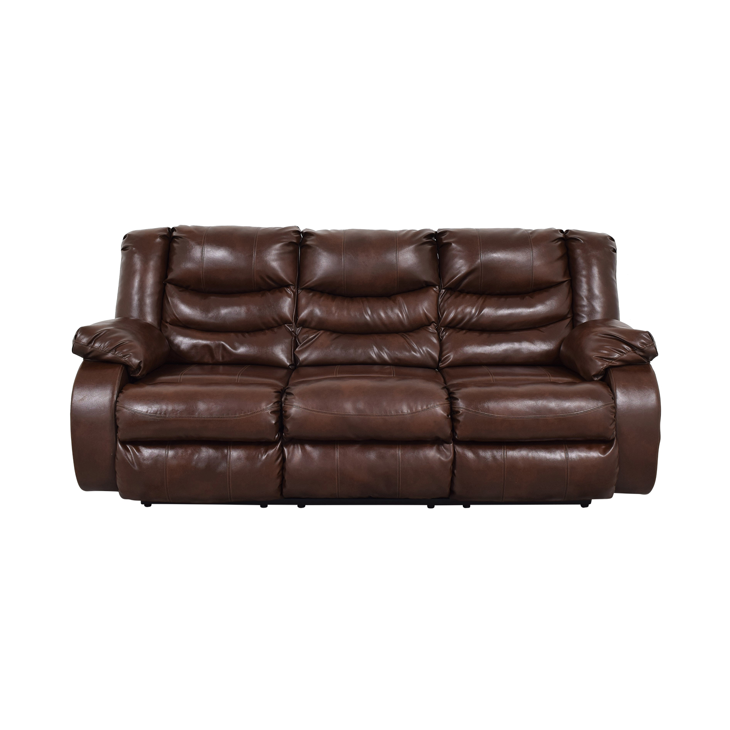 Three Seater Reclining Sofa used