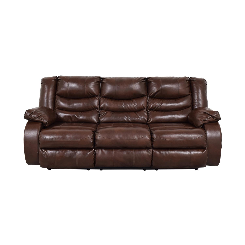shop Three Seater Reclining Sofa  Sofas