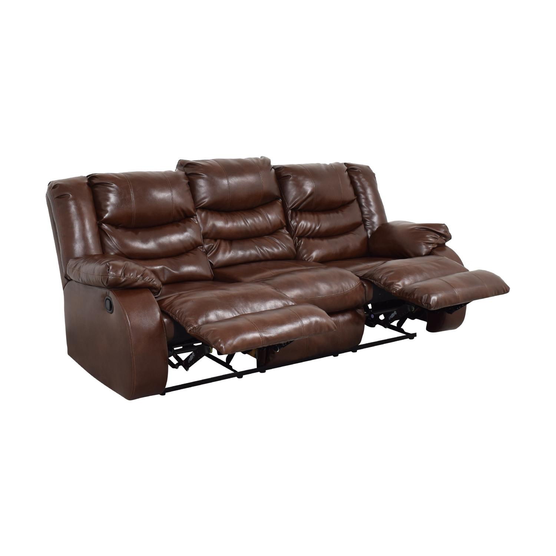 Three Seater Reclining Sofa nj