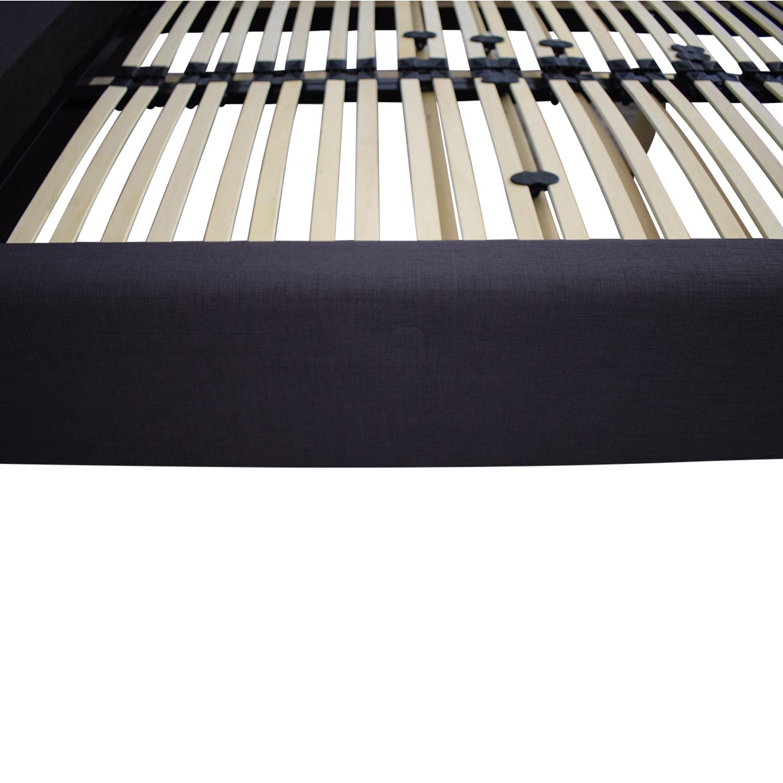 shop EQ3 B2C Fabric Queen Bed EQ3