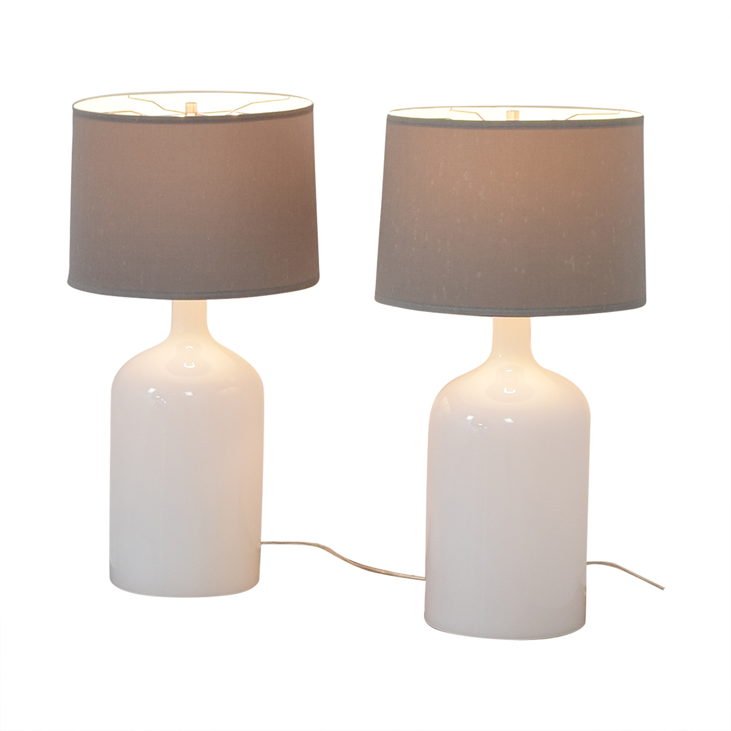 Crate & Barrel Crate & Barrel Della Table Lamps Decor