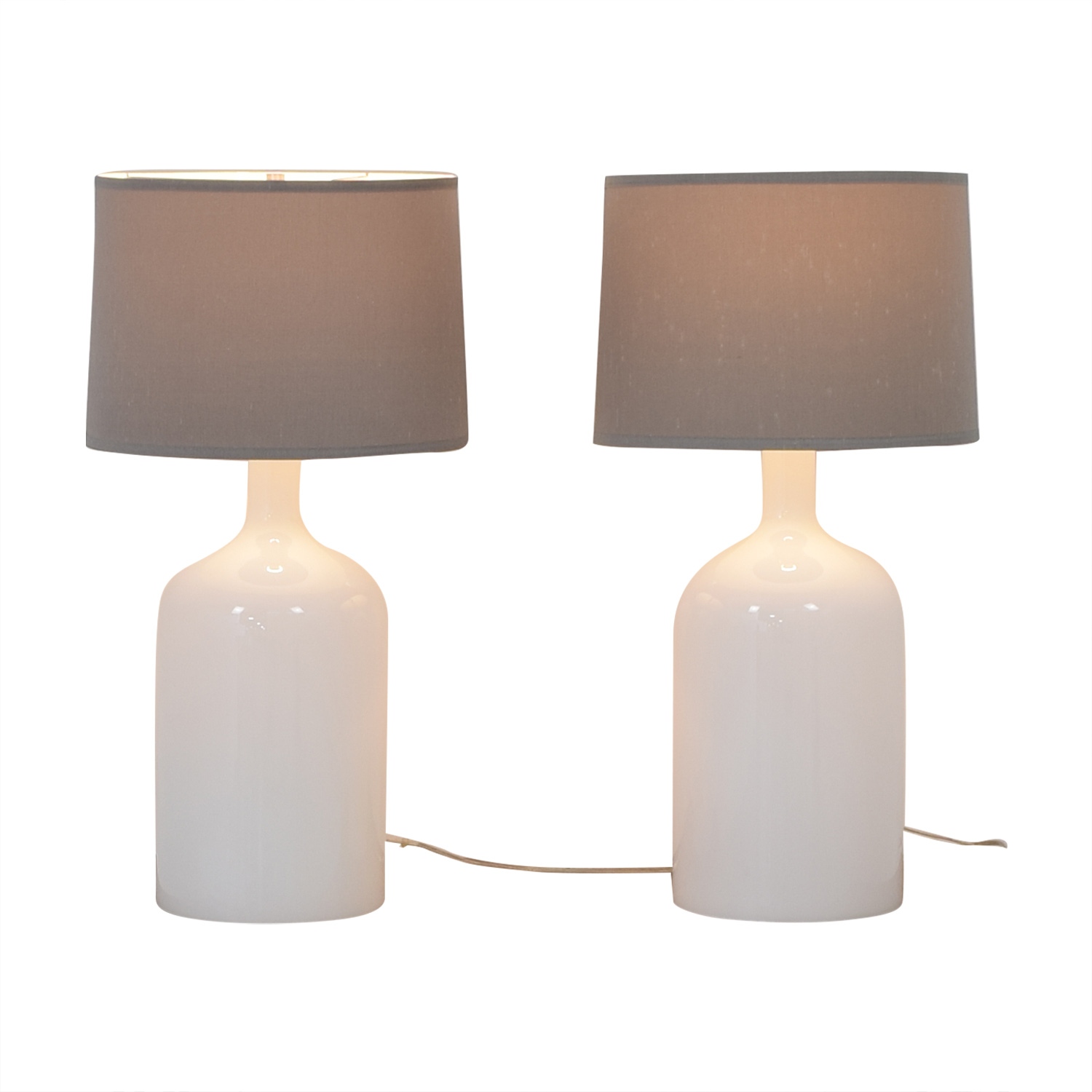 Crate & Barrel Crate & Barrel Della Table Lamps nyc