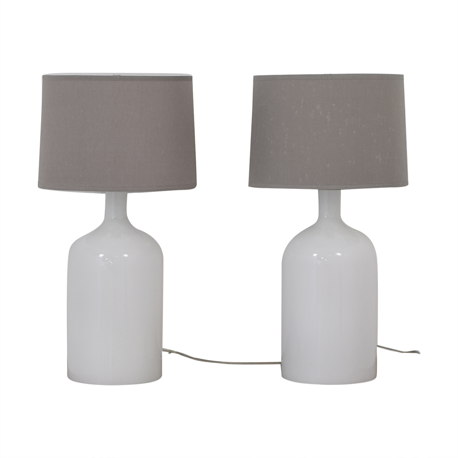 Crate & Barrel Crate & Barrel Della Table Lamps